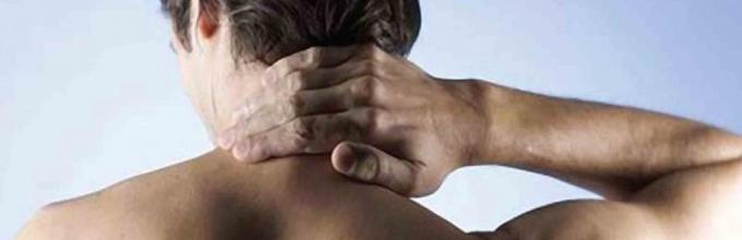 Сильное жжение и боль в шее