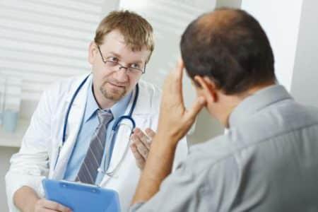 Диагностирование болезни